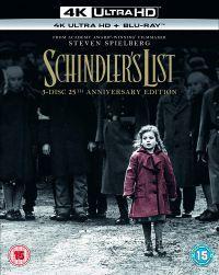 Schindler listája 25. évforduló (4K UHD + Blu-ray) Blu-ray