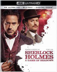 Sherlock Holmes 2. - Árnyjáték (4K UHD+Blu-ray) Blu-ray