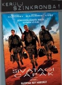Sivatagi cápák DVD