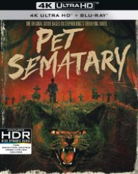 Stephen King: Kedvencek temetője (1989) (Kedvencek temetője (1989) (UHD+Blu-ray) Blu-ray