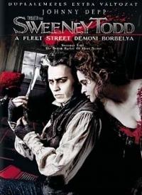Sweeney Todd - A Fleet Street démoni borbélya DVD