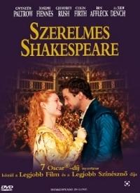 Szerelmes Shakespeare DVD