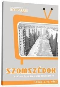 Szomszédok I. évad (1-18.rész) (4 DVD) DVD