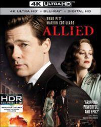 Szövetségesek (4K Blu-ray) Blu-ray