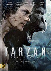 Tarzan legendája DVD