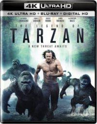 Tarzan legendája (4K Blu-ray + Blu-ray) Blu-ray