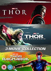 Thor 1-3. gyűjtemény (3 DVD) DVD