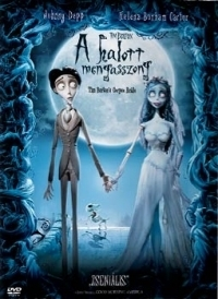 Tim Burton: A halott menyasszony DVD