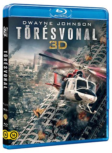 Törésvonal 2D és 3D Blu-ray