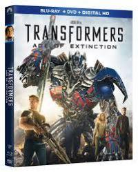 Transformers: A kihalás kora Blu-ray