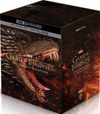 Trónok harca 1-8. évad - a teljes sorozat (30 4K UHD + 3 bónusz Blu-ray) Blu-ray