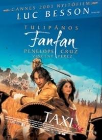 Tulipános Fanfan DVD