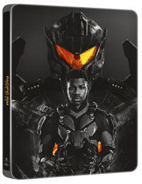Tűzgyűrű: Lázadás - limitált, fémdobozos változat (fekete steelbook) Blu-ray