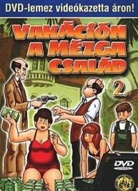 Vakáción a Mézga család DVD