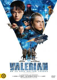 Valerian és az ezer bolygó városa DVD