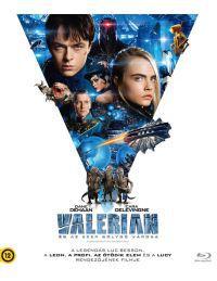 Valerian és az ezer bolygó városa Blu-ray