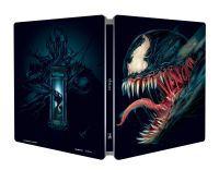"""Venom (UHD+Blu-ray) - limitált, fémdobozos változat (""""black"""" steelbook) Blu-ray"""