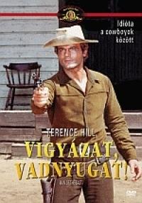 Vigyázat, vadnyugat DVD