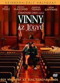 Vinny, az 1ügyű DVD