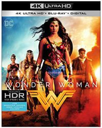 Wonder Woman (4K UHD Blu-ray + BD) Blu-ray