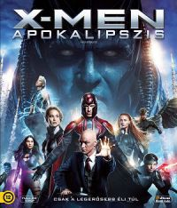 X-Men - Apokalipszis 2D és 3D Blu-ray