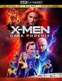X-Men: Sötét Főnix (4K UHD+Blu-ray) Blu-ray