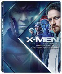 X-Men gyűjtemény 2. (Az előzmény trilógia): fémdobozos változat (steelbook) Blu-ray