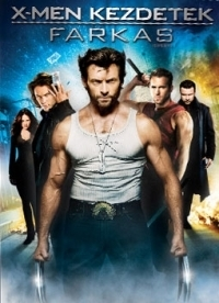 X-Men kezdetek: Farkas DVD