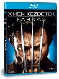X-Men kezdetek: Farkas Blu-ray
