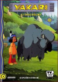 YAKARI 10. - Az öreg bölény DVD