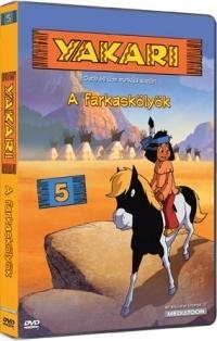 Yakari 5. - A farkaskölyök DVD
