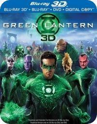 Zöld Lámpás 2D és 3D Blu-ray