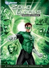 Zöld Lámpás: Smaragd lovagok DVD