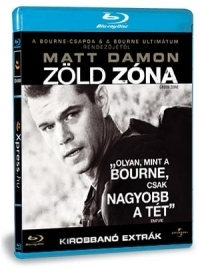 Zöld Zóna Blu-ray