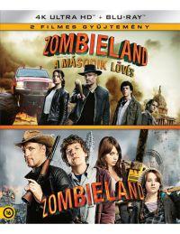 Zombieland 1-2.  (4K UHD + Blu-ray) Blu-ray