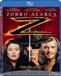 Zorro álarca Blu-ray