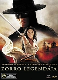 Zorro legendája DVD